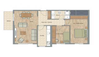 Appartementen dicht bij het Aydos-bos in Kartal Istanbul, Vloer Plannen-7