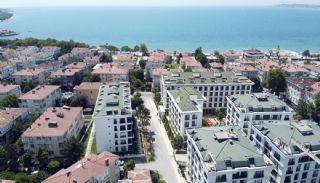 Wohnungen mit Meerblick in einem Komplex in Istanbul, Istanbul / Buyukcekmece