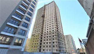 Современные Квартиры с Видом на Город в Стамбуле, Умрание, Фотографии строительства-2
