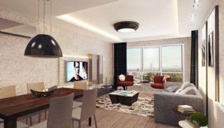 Appartements Contemporains Vue Sur Ville à Istanbul Umraniye, Photo Interieur-1