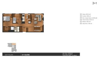 Investering lyxiga lägenheter att köpa i Istanbul Kagıthane, Planritningar-2
