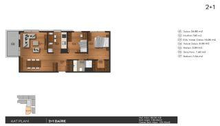 Investering lyxiga lägenheter att köpa i Istanbul Kagıthane, Planritningar-3
