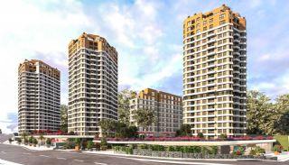 Gut gelegene Immobilien in einem sicheren Komplex in Kartal, Istanbul / Kartal
