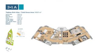 Gut gelegene Immobilien in einem sicheren Komplex in Kartal, Immobilienplaene-1