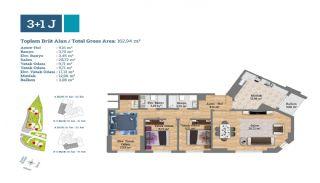 Gut gelegene Immobilien in einem sicheren Komplex in Kartal, Immobilienplaene-2