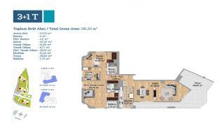Gut gelegene Immobilien in einem sicheren Komplex in Kartal, Immobilienplaene-3