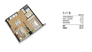 Luxueux Appartements à Maltepe Istanbul Vue Mer et Ville, Projet Immobiliers-2