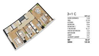 Luxueux Appartements à Maltepe Istanbul Vue Mer et Ville, Projet Immobiliers-6