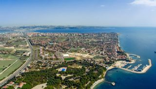 Элитные Квартиры в Стамбуле Рядом с Морем и Портом для Яхт, Стамбул / Бююкчекмедже - video