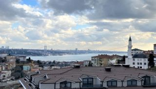 Duplex Apartment for Sale in Istanbul with Bosphorus View, Istanbul / Uskudar