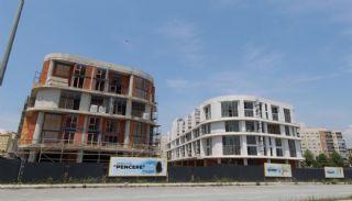 Квартиры с Видом на Море в Комплексе в Стамбуле, Бейликдюзю, Фотографии строительства-1