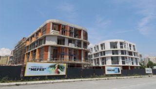 Квартиры с Видом на Море в Комплексе в Стамбуле, Бейликдюзю, Фотографии строительства-2