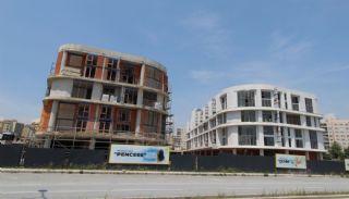 Квартиры с Видом на Море в Комплексе в Стамбуле, Бейликдюзю, Фотографии строительства-3