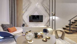 Квартиры с Видом на Море в Комплексе в Стамбуле, Бейликдюзю, Фотографии комнат-1