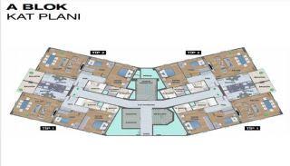 شقق حديثة في مشروع آمن في سانجاكتيبي, مخططات العقار-7
