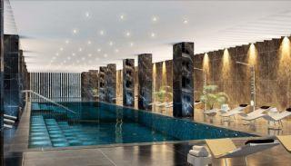 Meerblick-Wohnungen in einem Komplex mit Pools in Istanbul Türkei, Istanbul / Kadikoy - video
