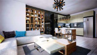 Meerblick-Wohnungen in einem Komplex mit Pools in Istanbul Türkei, Foto's Innenbereich-5