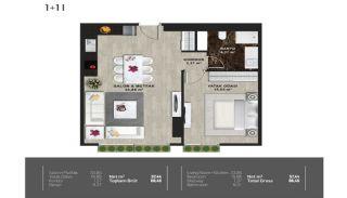 Meerblick-Wohnungen in einem Komplex mit Pools in Istanbul Türkei, Immobilienplaene-12