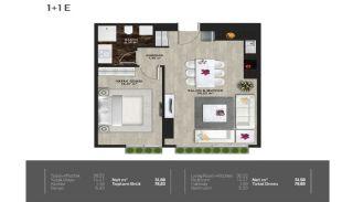 Meerblick-Wohnungen in einem Komplex mit Pools in Istanbul Türkei, Immobilienplaene-15