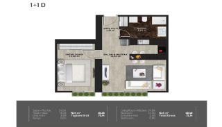 Meerblick-Wohnungen in einem Komplex mit Pools in Istanbul Türkei, Immobilienplaene-16