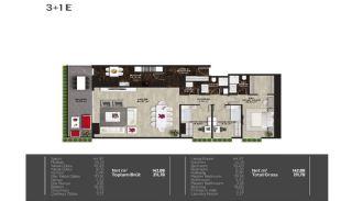 Meerblick-Wohnungen in einem Komplex mit Pools in Istanbul Türkei, Immobilienplaene-2