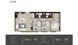 Meerblick-Wohnungen in einem Komplex mit Pools in Istanbul Türkei, Immobilienplaene-5