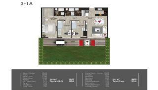 Meerblick-Wohnungen in einem Komplex mit Pools in Istanbul Türkei, Immobilienplaene-6