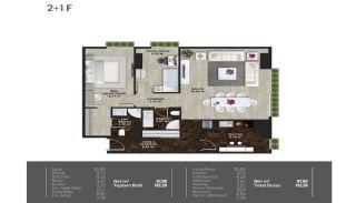 Meerblick-Wohnungen in einem Komplex mit Pools in Istanbul Türkei, Immobilienplaene-7