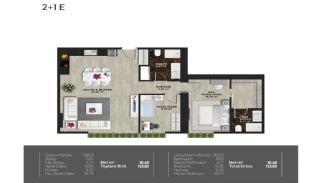 Meerblick-Wohnungen in einem Komplex mit Pools in Istanbul Türkei, Immobilienplaene-8