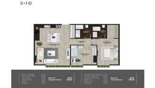 Meerblick-Wohnungen in einem Komplex mit Pools in Istanbul Türkei, Immobilienplaene-9