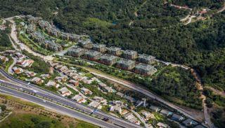 Luxuriöse Wohnungen in Istanbul Beykoz inmitten der Natur, Immobilienplaene-16