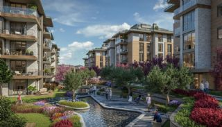 Luxuriöse Wohnungen in Istanbul Beykoz inmitten der Natur, Immobilienplaene-2