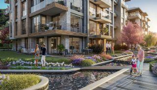 Luxuriöse Wohnungen in Istanbul Beykoz inmitten der Natur, Immobilienplaene-3