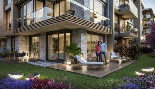 Luxuriöse Wohnungen in Istanbul Beykoz inmitten der Natur, Immobilienplaene-4