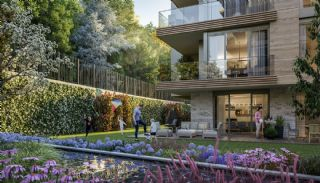 Luxuriöse Wohnungen in Istanbul Beykoz inmitten der Natur, Immobilienplaene-7