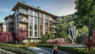 Luxuriöse Wohnungen in Istanbul Beykoz inmitten der Natur, Immobilienplaene-8