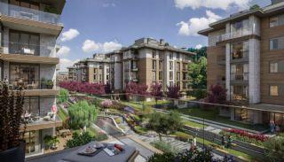 Luxuriöse Wohnungen in Istanbul Beykoz inmitten der Natur, Immobilienplaene-9