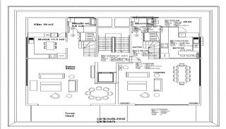 Luxury Villas in Complex with Rich Amenities in Istanbul, Property Plans-5
