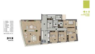Modern Apartments in Istanbul Uskudar Close to the Subway, Property Plans-11