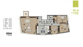 Modern Apartments in Istanbul Uskudar Close to the Subway, Property Plans-15