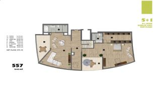 Modern Apartments in Istanbul Uskudar Close to the Subway, Property Plans-2