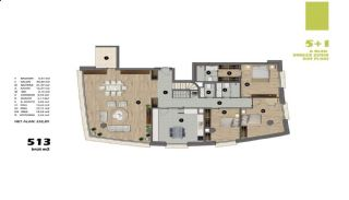 Modern Apartments in Istanbul Uskudar Close to the Subway, Property Plans-3