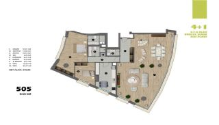 Modern Apartments in Istanbul Uskudar Close to the Subway, Property Plans-7