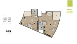 Modern Apartments in Istanbul Uskudar Close to the Subway, Property Plans-8