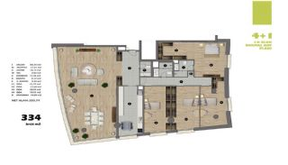 Modern Apartments in Istanbul Uskudar Close to the Subway, Property Plans-9