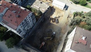 Island View Apartments in a Seaside Project in Istanbul, Construction Photos-4