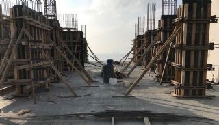 Island View Apartments in a Seaside Project in Istanbul, Construction Photos-7