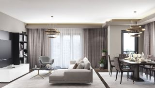 Island View Apartments in a Seaside Project in Istanbul, Interior Photos-3