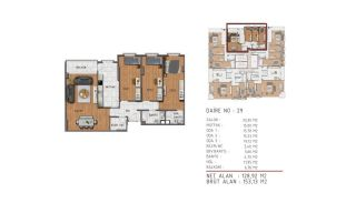 Island View Apartments in a Seaside Project in Istanbul, Property Plans-3