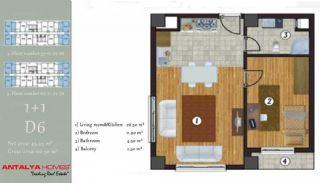 آپارتمان جذاب در یک موقعیت مرکزی, پلان ملک-1